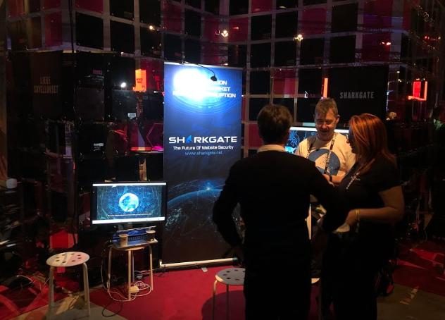 SharkGate Booth at Slush